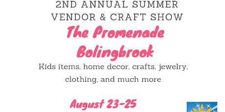 Summer Show at the Promenade Bolingbrook tickets