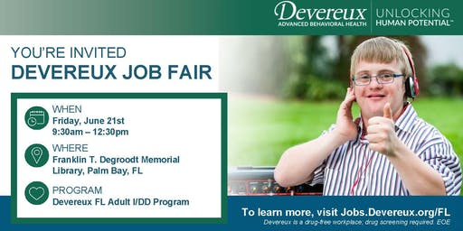 DIRECT SUPPORT PROFESSIONAL HIRING EVENT 6/21/19