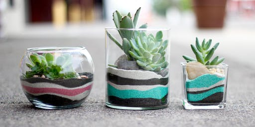 KIDS CLUB: Sand Art Terrarium