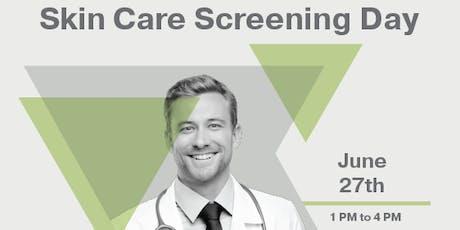 Skin Care Screening Day tickets