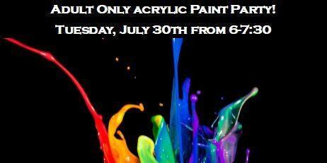Adult Acrylic Painting Night