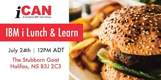 iCan IBM i Lunch & Learn - Halifax