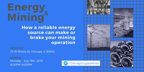 No Energy = No Crypto tickets