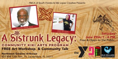 YMCA & Niki Lopez Creative Presents: FREE Art Workshop & Community Talk w/ Derek Davis