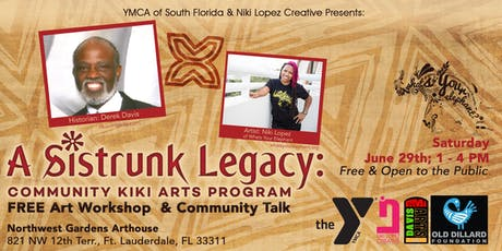 YMCA & Niki Lopez Creative Presents: FREE Art Workshop & Community Talk w/ Derek Davis tickets