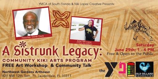 YMCA & Niki Lopez Creative Presents: FREE Art Workshop & Community Talk w/ Derek Davis