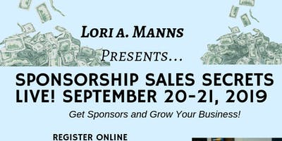 Sponsorship Sales Secrets Live 2019