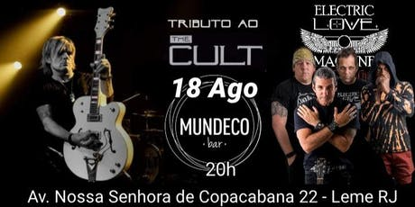 The CULT tributo - MUNDECO bar ingressos