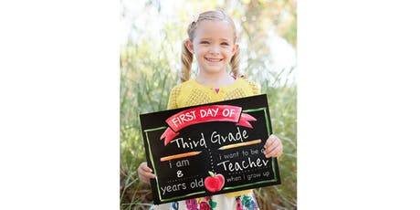 Back to School Pallet Chalkboard - Paint  and Sip Party Art Class tickets