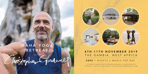 MaHa Yoga Retreat in Gambia with Christopher Gladwell