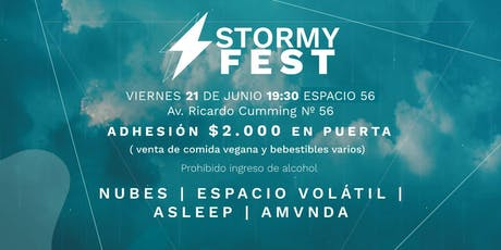 Stormy fest tickets