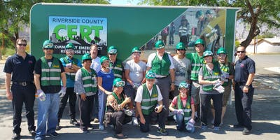 Community Emergency Response Team (CERT) Training - October 25-27, 2019