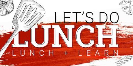 Lunch + Learn Lubbock tickets