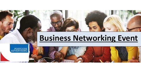 Postcode Advertising Business Networking Event tickets