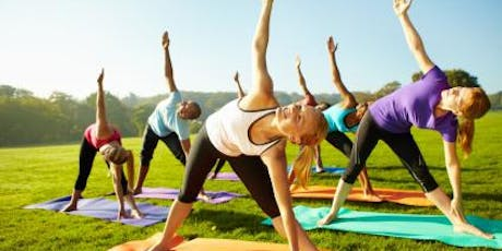 Yoga in the Park - Free yoga breathing and meditation workshop tickets