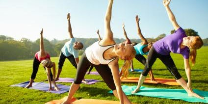 Yoga in the Park - Free yoga breathing and meditation workshop