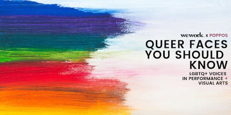 Queer Faces You Should Know: LGBTQ+ Voices in Performance Arts tickets