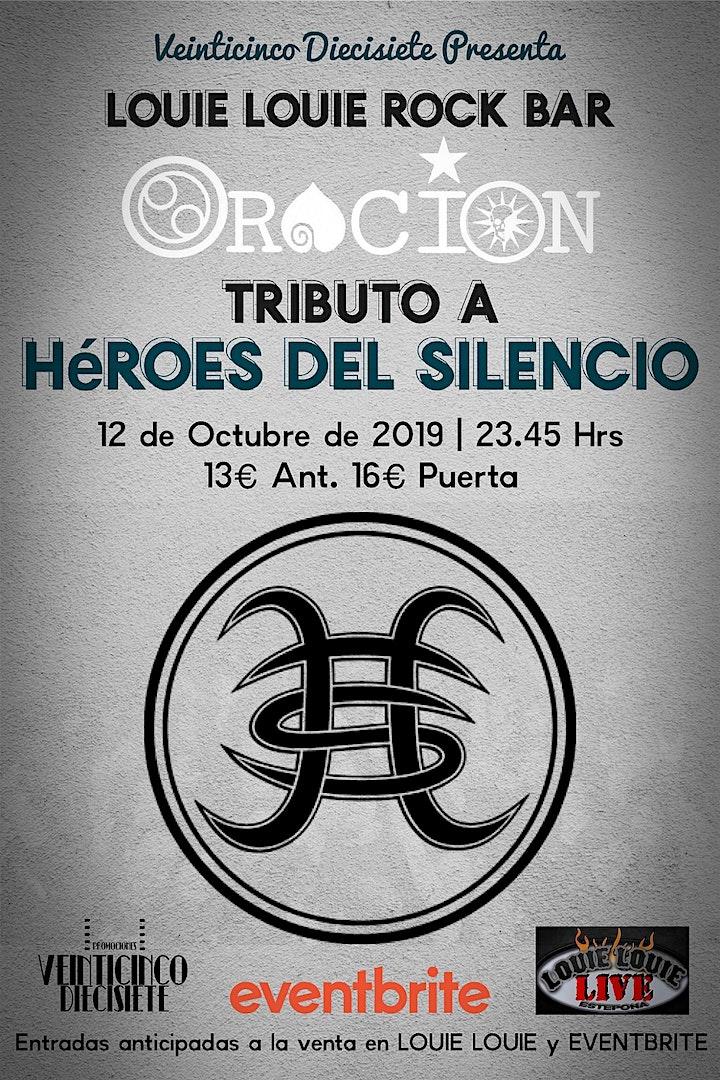 Imagen de TRIBUTO A HÉROES DEL SILENCIO EN LOUIE LOUIE ESTEPONA by ORACIÓN