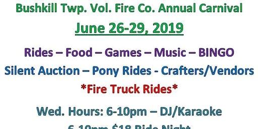 Bushkill Twp. Vol. Fire Co. Carnival