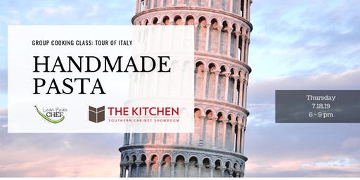 """Group Cooking Class - """"Tour of Italy"""" - Handmade P"""