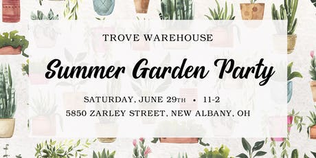 Summer Garden Party at Trove tickets