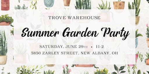 Summer Garden Party at Trove