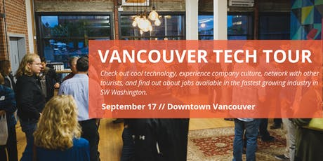 2019 Company Registration: Vancouver Tech Tour tickets
