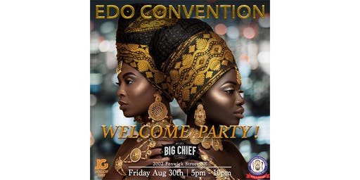 Edo Convention - Welcome Party