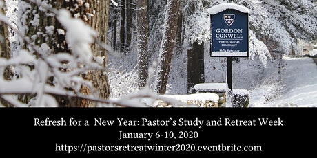 Pastor's Retreat and Study Week Winter 2020 tickets