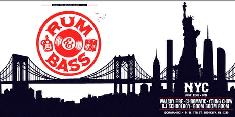 Rum & Bass with Walshy Fire and Friends tickets