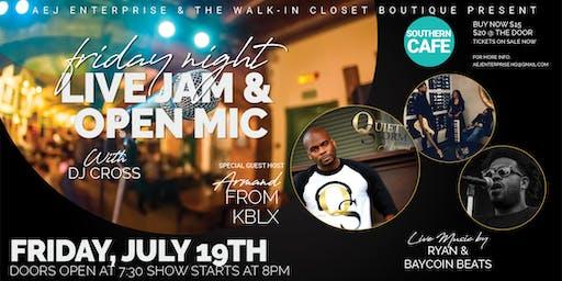 Friday Night I've Jam & Open Mic