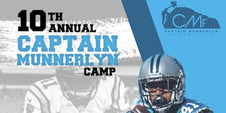 Captain Munnerlyn 10th Year Youth Football Camp tickets