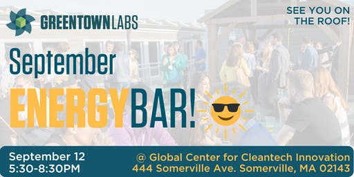September EnergyBar @ Greentown Labs