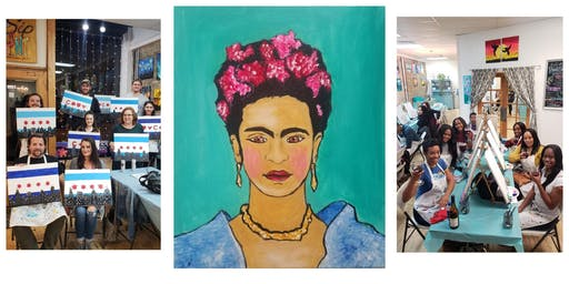 "BYOB Sip & Paint Event - ""Frida"""