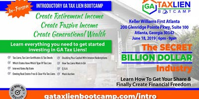 CE | Introductory GA Tax Lien Bootcamp