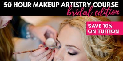 BRIDAL: 50 Hour Makeup Artistry Course - PREVIEW