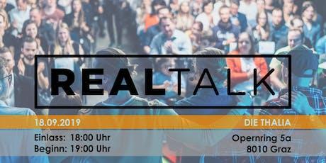 RealTalk VII - Ein Event, das Leben verändert Tickets