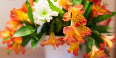 Petals & Sip Flower Event