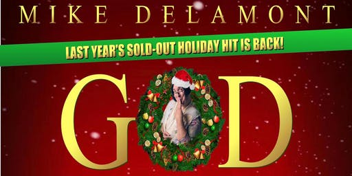GOD IS A SCOTTISH DRAG QUEEN CHRISTMAS SPECIAL - Friday, December 13th