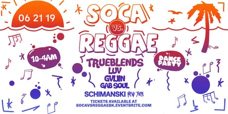Soca vs Reggae Dance Party tickets