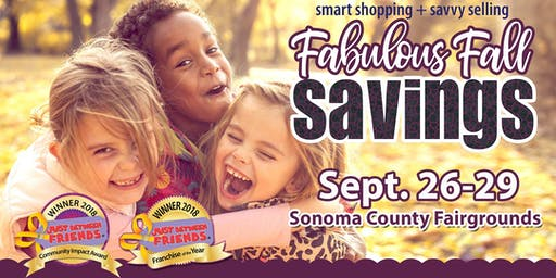 FREE TICKET - JBF MEGA Kids' Consignment Sale -  Sept. 26-29, 2019