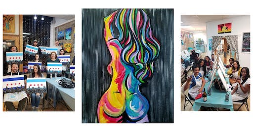 """BYOB Sip & Paint Event - """"50 Shades of Color"""""""
