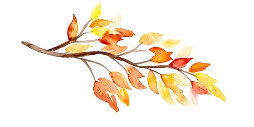 Autumn Watercolor Workshop