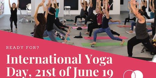 International Yoga day - Lunch Flow with Valentine