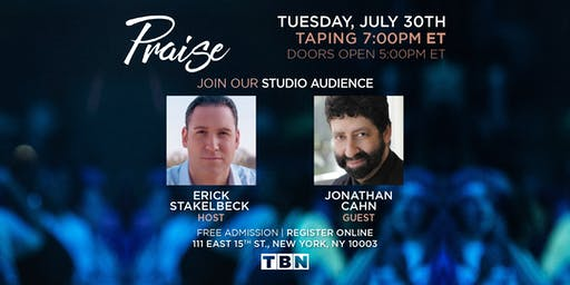 NY - Jonathan Cahn with Erick Stakelbeck