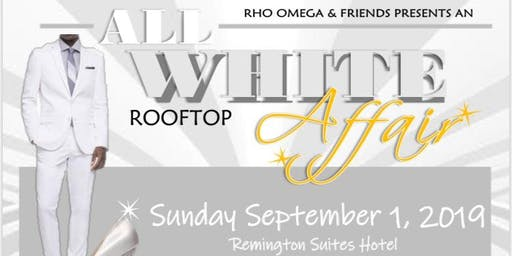 All White Rooftop Affair