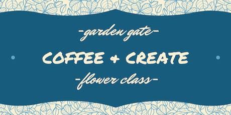 Coffee & Create tickets