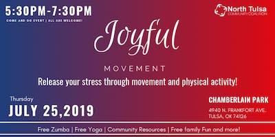Joyful Movement | Release your stress through physical activity!