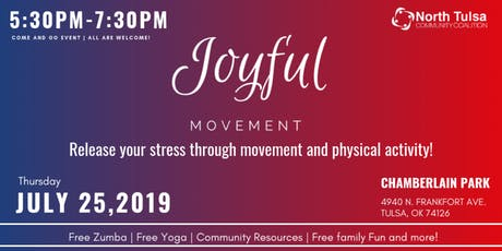 Joyful Movement | Release your stress through physical activity! tickets
