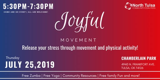 Joyful Movement | Release your stress through physical activity!